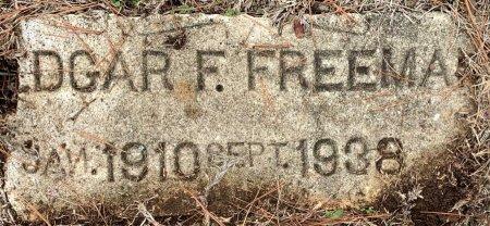 FREEMAN, EDGAR F - Morris County, Texas   EDGAR F FREEMAN - Texas Gravestone Photos