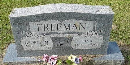 FREEMAN, GEORGE M - Morris County, Texas   GEORGE M FREEMAN - Texas Gravestone Photos