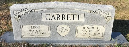 GARRETT, WINNIE L - Morris County, Texas | WINNIE L GARRETT - Texas Gravestone Photos