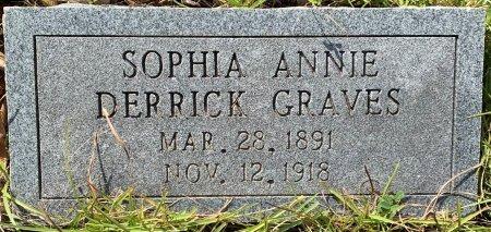 GRAVES, SOPHIA ANNIE - Morris County, Texas | SOPHIA ANNIE GRAVES - Texas Gravestone Photos