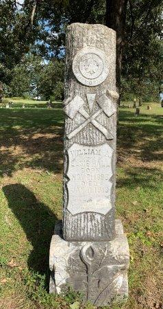 HALL, WILLIAM A - Morris County, Texas | WILLIAM A HALL - Texas Gravestone Photos