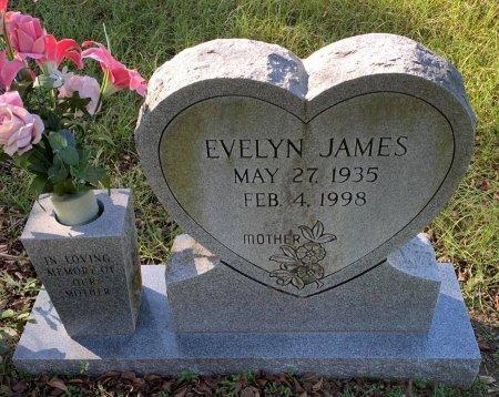 JAMES, EVELYN - Morris County, Texas   EVELYN JAMES - Texas Gravestone Photos