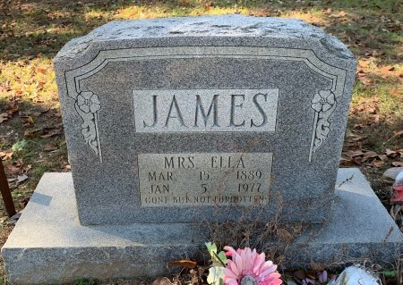 JAMES, ELLA - Morris County, Texas | ELLA JAMES - Texas Gravestone Photos