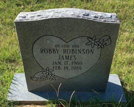 JAMES, ROBBY ROBINSON - Morris County, Texas | ROBBY ROBINSON JAMES - Texas Gravestone Photos