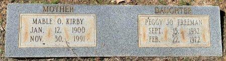 FREEMAN, PEGGY JO - Morris County, Texas | PEGGY JO FREEMAN - Texas Gravestone Photos