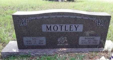MOTLEY, BONNIE - Morris County, Texas | BONNIE MOTLEY - Texas Gravestone Photos
