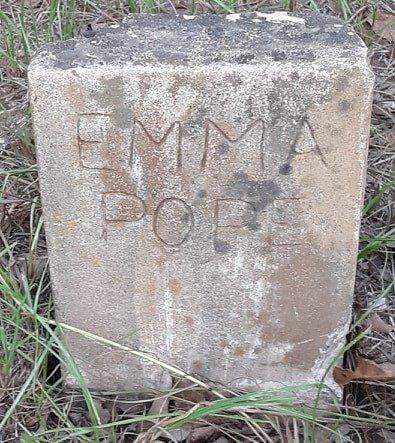 POPE, EMMA - Morris County, Texas | EMMA POPE - Texas Gravestone Photos