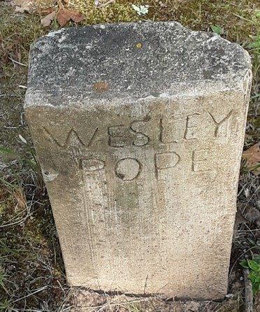POPE, WESLEY - Morris County, Texas | WESLEY POPE - Texas Gravestone Photos
