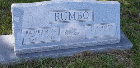 RUMBO, SR, RICHARD M - Morris County, Texas | RICHARD M RUMBO, SR - Texas Gravestone Photos