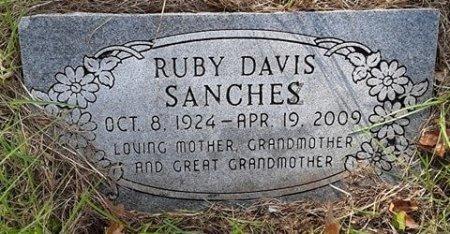SANCHES, RUBY - Morris County, Texas | RUBY SANCHES - Texas Gravestone Photos