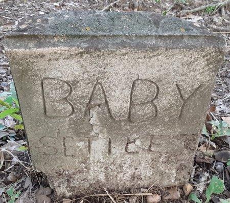 SETTLES, BABY - Morris County, Texas | BABY SETTLES - Texas Gravestone Photos