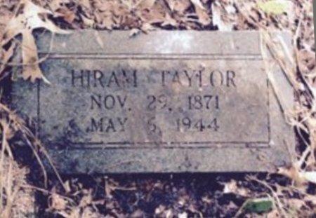 TAYLOR, HIRAM T - Morris County, Texas | HIRAM T TAYLOR - Texas Gravestone Photos