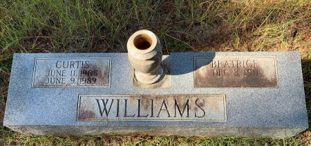 WILLIAMS, CURTIS - Morris County, Texas | CURTIS WILLIAMS - Texas Gravestone Photos