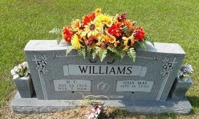 WILLIAMS, H C - Morris County, Texas | H C WILLIAMS - Texas Gravestone Photos