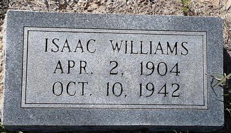 WILLIAMS, ISAAC - Morris County, Texas   ISAAC WILLIAMS - Texas Gravestone Photos