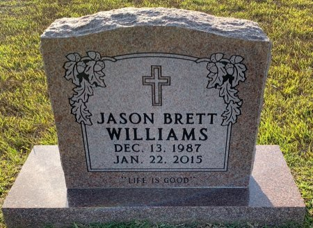 WILLIAMS, JASON BRETT - Morris County, Texas | JASON BRETT WILLIAMS - Texas Gravestone Photos