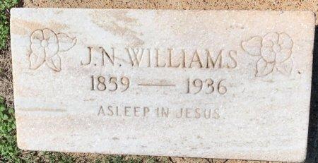 WILLIAMS, J N - Morris County, Texas | J N WILLIAMS - Texas Gravestone Photos