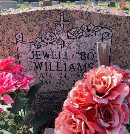 "WILLIAMS, JEWEL ""BO"" - Morris County, Texas | JEWEL ""BO"" WILLIAMS - Texas Gravestone Photos"