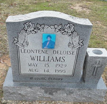 EVANS WILLIAMS, LEONTENE DELOISE - Morris County, Texas   LEONTENE DELOISE EVANS WILLIAMS - Texas Gravestone Photos