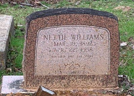 WILLIAMS, NETTIE - Morris County, Texas | NETTIE WILLIAMS - Texas Gravestone Photos