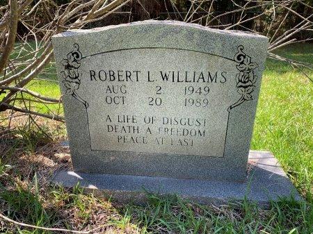 WILLIAMS, ROBERT L - Morris County, Texas | ROBERT L WILLIAMS - Texas Gravestone Photos