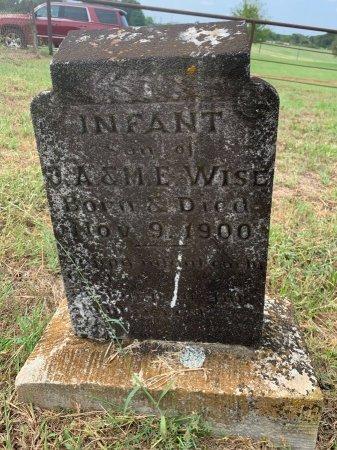 WISE, INFANT SON - Morris County, Texas   INFANT SON WISE - Texas Gravestone Photos