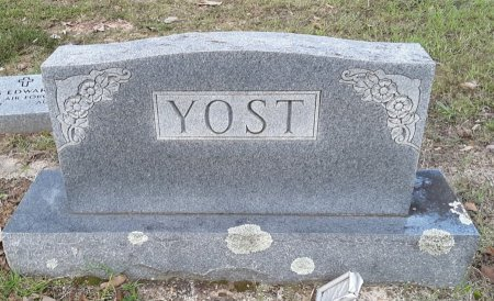YOST, FAMILY MARKER - Morris County, Texas   FAMILY MARKER YOST - Texas Gravestone Photos