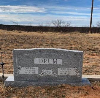 DRUM, RUTH ANN - Motley County, Texas | RUTH ANN DRUM - Texas Gravestone Photos