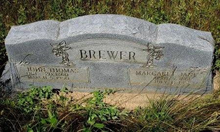 BREWER, JOHN THOMAS - Nacogdoches County, Texas | JOHN THOMAS BREWER - Texas Gravestone Photos