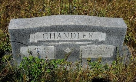 CHANDLER, JOHN FRANKLIN - Nacogdoches County, Texas | JOHN FRANKLIN CHANDLER - Texas Gravestone Photos