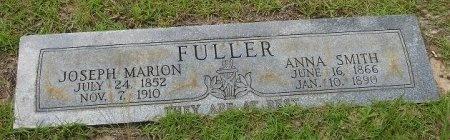 FULLER, JOSEPH MARION - Nacogdoches County, Texas | JOSEPH MARION FULLER - Texas Gravestone Photos