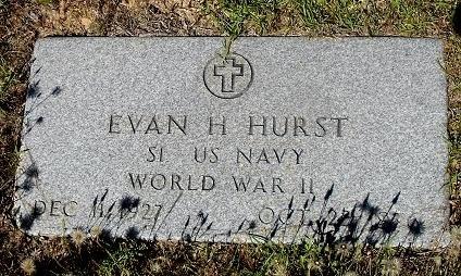 HURST (VETERAN WWII), EVAN H - Nacogdoches County, Texas | EVAN H HURST (VETERAN WWII) - Texas Gravestone Photos