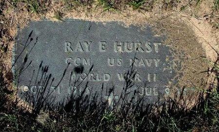 HURST (VETERAN WWII), RAY EDWIN - Nacogdoches County, Texas   RAY EDWIN HURST (VETERAN WWII) - Texas Gravestone Photos