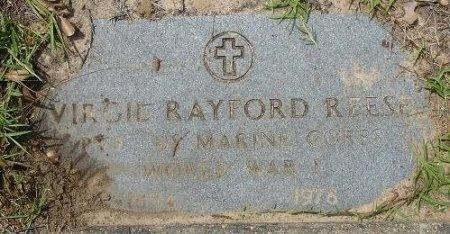 REESE (VETERAN WWI), VIRGIL RAYFORD - Nacogdoches County, Texas | VIRGIL RAYFORD REESE (VETERAN WWI) - Texas Gravestone Photos