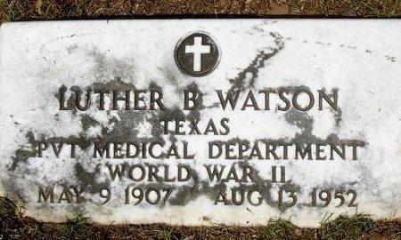 WATSON (VETERAN WWII), LUTHER B. - Nacogdoches County, Texas | LUTHER B. WATSON (VETERAN WWII) - Texas Gravestone Photos