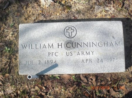 CUNNINGHAM (VETERAN), WILLIAM HENRY - Newton County, Texas | WILLIAM HENRY CUNNINGHAM (VETERAN) - Texas Gravestone Photos