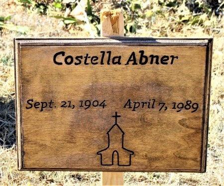ABNER, COSTELLA - Nolan County, Texas | COSTELLA ABNER - Texas Gravestone Photos