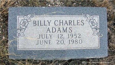 ADAMS, BILLY CHARLES - Nolan County, Texas | BILLY CHARLES ADAMS - Texas Gravestone Photos