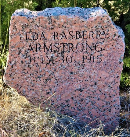 RASBERRY ARMSTRONG, MARY LEDA - Nolan County, Texas | MARY LEDA RASBERRY ARMSTRONG - Texas Gravestone Photos