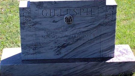 GILLESPIE, MINNIE A - Nolan County, Texas | MINNIE A GILLESPIE - Texas Gravestone Photos