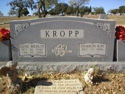 KROPP,  GENE MERLIN - Nolan County, Texas |  GENE MERLIN KROPP - Texas Gravestone Photos