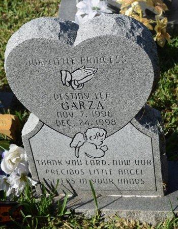 GARZA, DESTINY LEE - Nueces County, Texas | DESTINY LEE GARZA - Texas Gravestone Photos