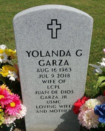 GARZA, YOLANDA G - Nueces County, Texas   YOLANDA G GARZA - Texas Gravestone Photos