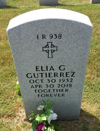 GUTIERREZ, ELIA G - Nueces County, Texas | ELIA G GUTIERREZ - Texas Gravestone Photos
