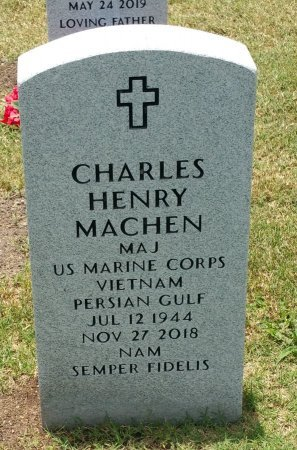 MACHEN (VETERAN VIET), CHARLES HENRY - Nueces County, Texas | CHARLES HENRY MACHEN (VETERAN VIET) - Texas Gravestone Photos