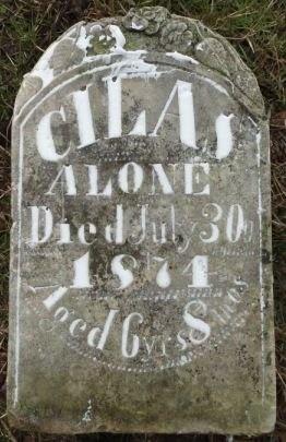 ALONE, CILAS - Palo Pinto County, Texas | CILAS ALONE - Texas Gravestone Photos