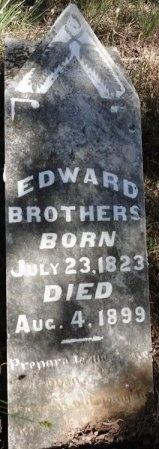 BROTHERS (VETERAN CSA), EDWARD - Palo Pinto County, Texas   EDWARD BROTHERS (VETERAN CSA) - Texas Gravestone Photos