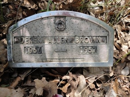 BROWN, DEREK ALLEN - Palo Pinto County, Texas | DEREK ALLEN BROWN - Texas Gravestone Photos