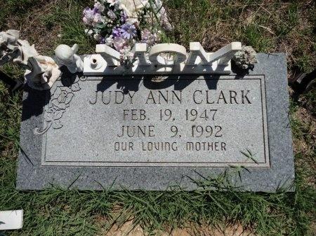 CLARK, JUDY ANN - Palo Pinto County, Texas   JUDY ANN CLARK - Texas Gravestone Photos