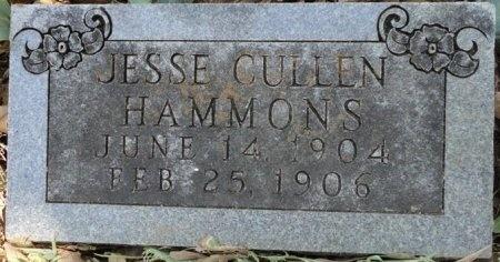 HAMMONS, JESSE CULLEN - Palo Pinto County, Texas | JESSE CULLEN HAMMONS - Texas Gravestone Photos